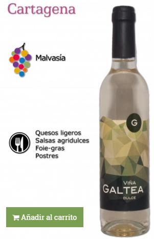 vino elaborado con uva viura