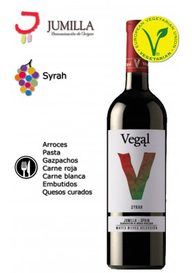 Vino Vegal Syrah Jumilla 2014