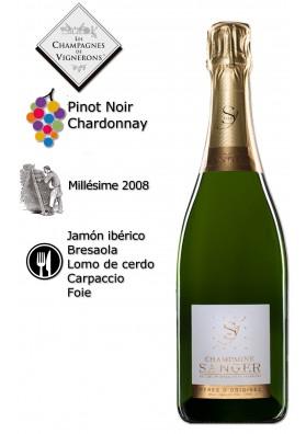 Champagne Peres D'Origines-Millésime GRAND CRU