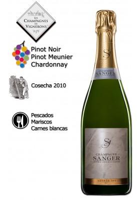 Champagne Voyage 360 Brut 1/2 botella