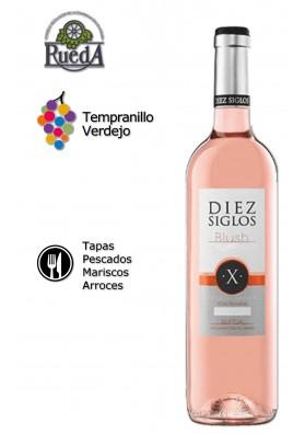 Diez Siglos Blush rosado 2015