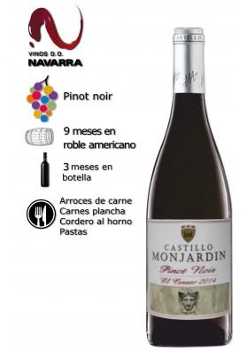 Vino Castillo Monjardín Pinot Noir Roble 2015