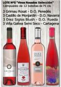 """Lote Nº 5 """"Vinos Rosados Selección"""""""
