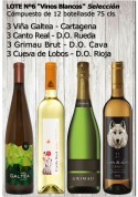 """Lote Nº 6 """"Vinos Blancos Selección"""""""